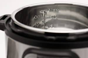 Close up of a Duo to compare the differences between the Instant Pot Duo vs Duo Nova