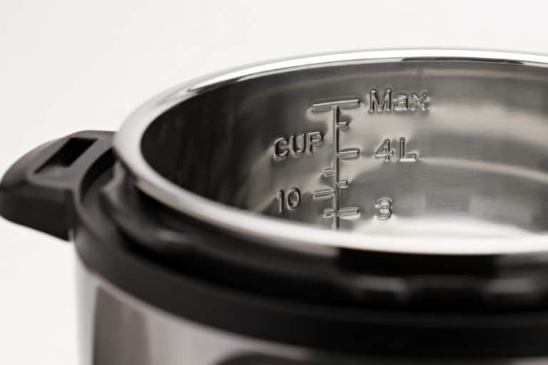 Close up of a 6 Quart Duo to compares the differences between the Instant Pot Viva vs Duo Evo Plus